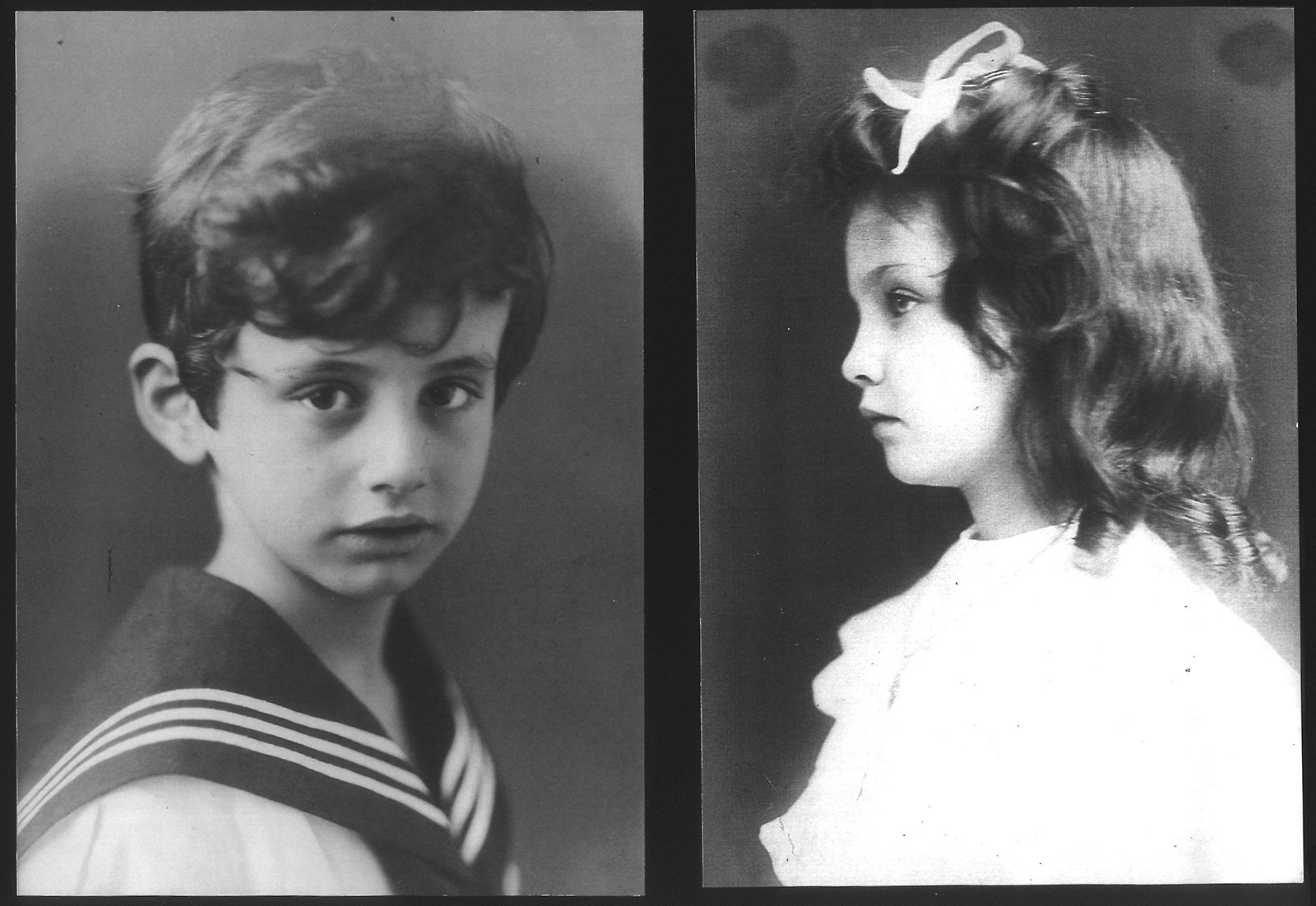 Eleonora with her brother Francesco von Mendelssohn, © Private collection.